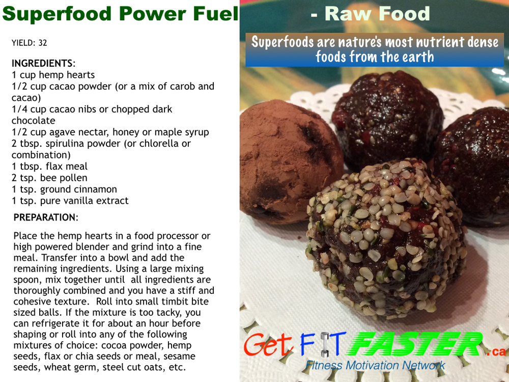 Superfood Power Fuel