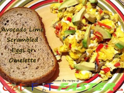 Avocado Lime Scrambled Eggs or Omelette-GetFitFaster.ca (2).JPG
