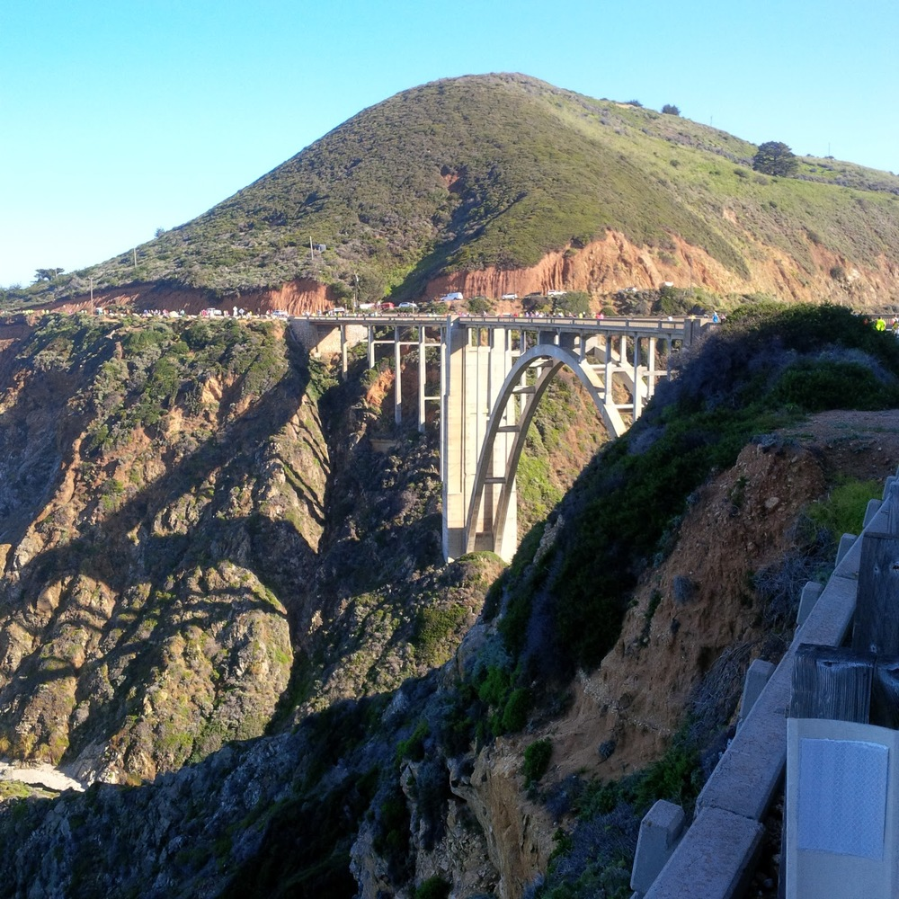 The Bixby Creek Bridge is another beautiful view with a surprise at the end.