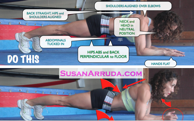 susan arruda plank abs do this not that