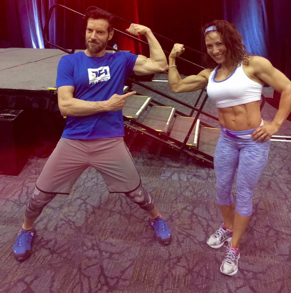 With the legend - P90X creator - Tony Horton