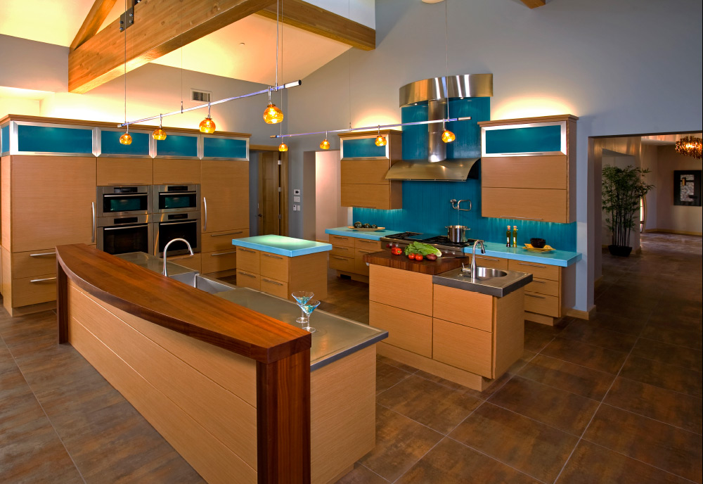OPEN PLAN KITCHEN - 1st Place