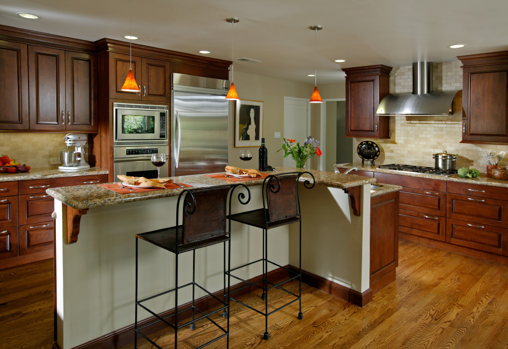 OPEN PLAN KITCHENS - 3rd Place