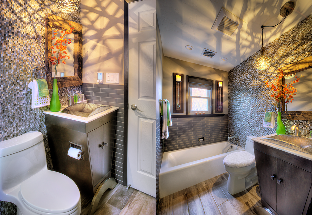SMALL BATHROOMS - 1st Place - Judge's Choice Award