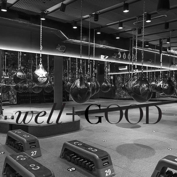 "WELL + GOOD  | JANUARY 2017  ...if you're at all intimidated by boxing as a workout, know that Neiman is pointing out the artwork on the walls, the ""experience,"" which includes cushioned benches for hanging out, swanky locker rooms, and absolutely no getting-punched-in-the-face.     READ MORE..."