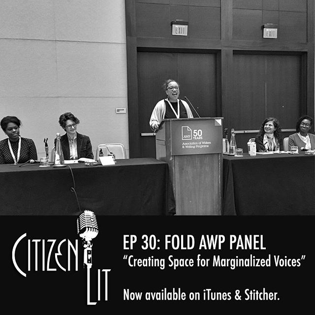 "In today's episode we share excerpts from the panel entitled ""Creating Space for Marginalized Voices"" presented at the 2017 AWP Conference. The organizers of Canada's inaugural Festival of Literary Diversity (@the_fold) in discussion with publishing professionals talk about how to promote and support a diverse lineup of authors, uncovering how targeted initiatives and intentional approaches can effectively address the diversity gaps in the publishing industry. #nowplaying #podcast"