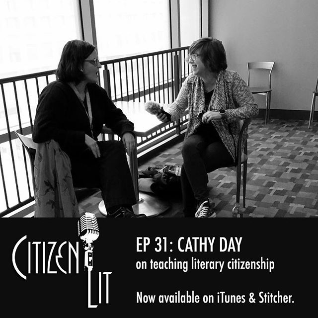 In this week's episode @daycathy of @bsuenglish talks #literarycitizenship in and after the classroom. #nowplaying #podcast