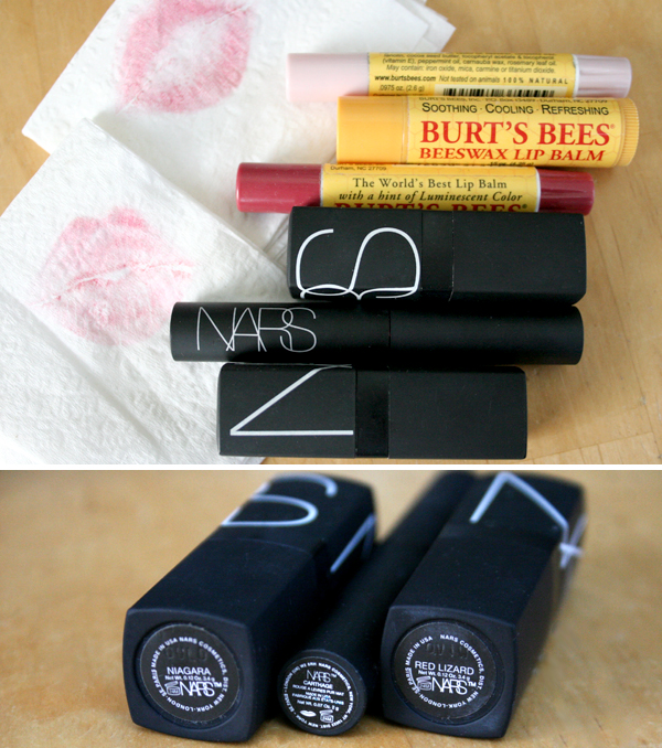 lipstick-color-brand-favorites-ratings-comparison-lipcolor-beauty-blog-nars-burts-bees-red-pink-chapstick.jpg