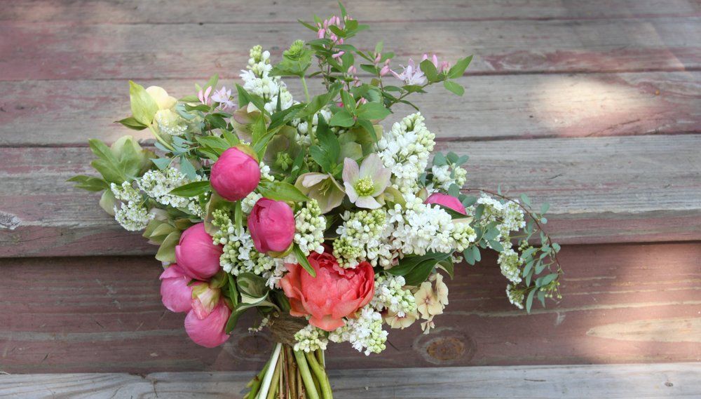 Vermont flower farm wedding flowers