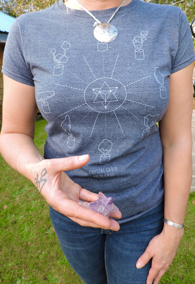 Tlell Stone Circle Tee in Womens