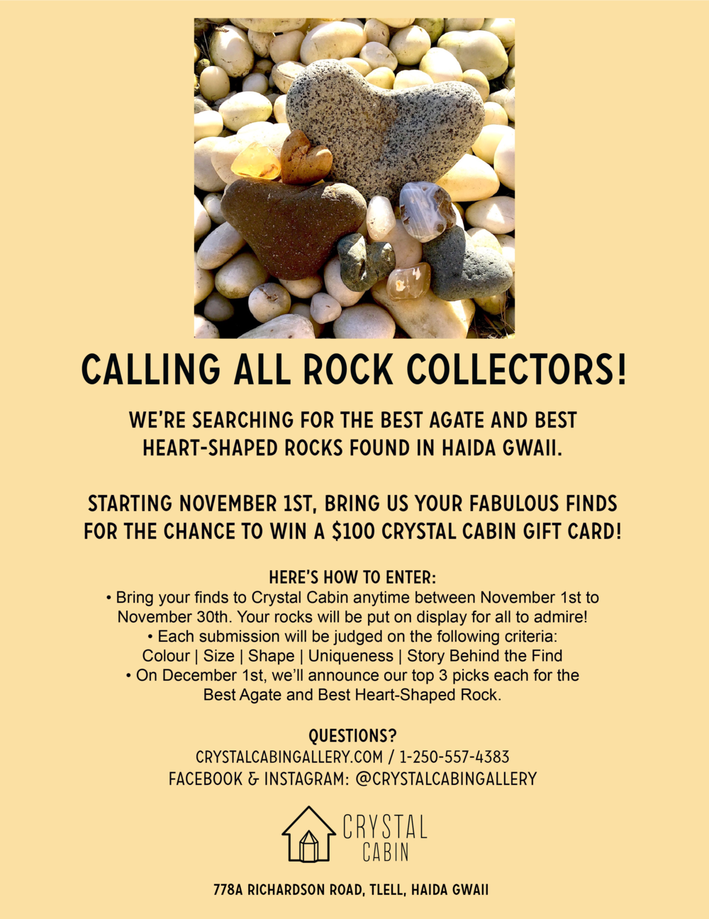 Rock FInder Contest!