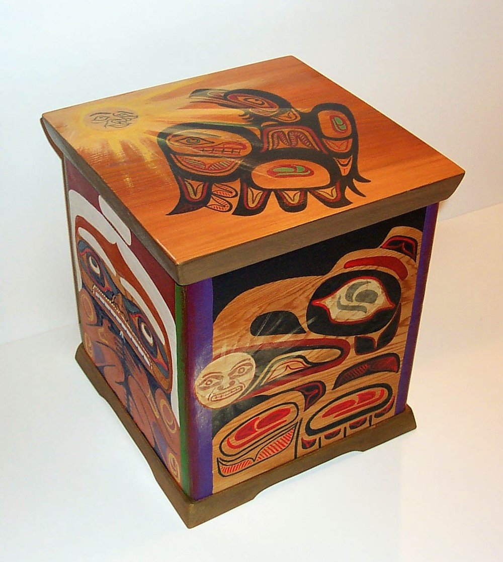 Red Cedar Bentwood Box