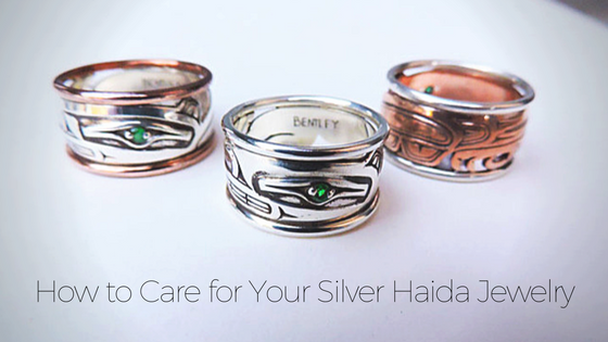 How to Care for Your Silver Haida Jewelry