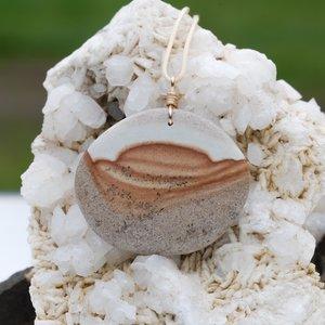Serenity Stone Pendant - Medium