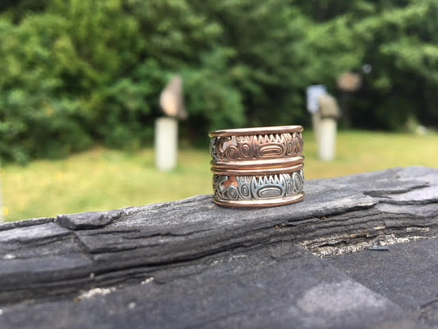 Haida Wedding Bands