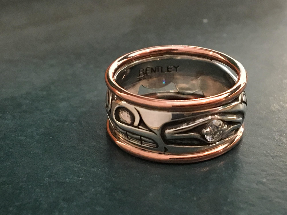 Norman Bentley Diamond Wedding Band