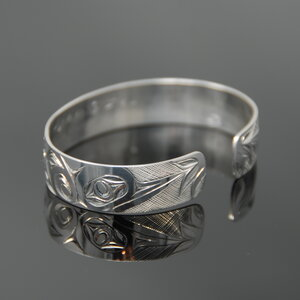 Hummingbird Bracelet - 1/2 inch wide