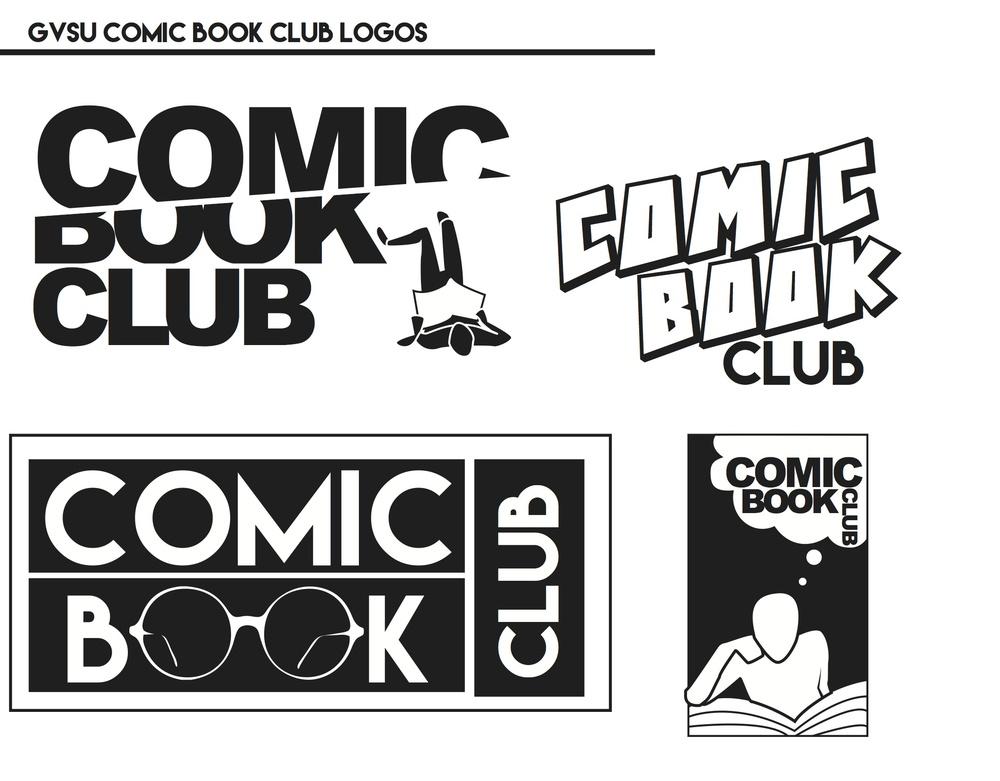 GVSU Comic Book Club Tshirt Design