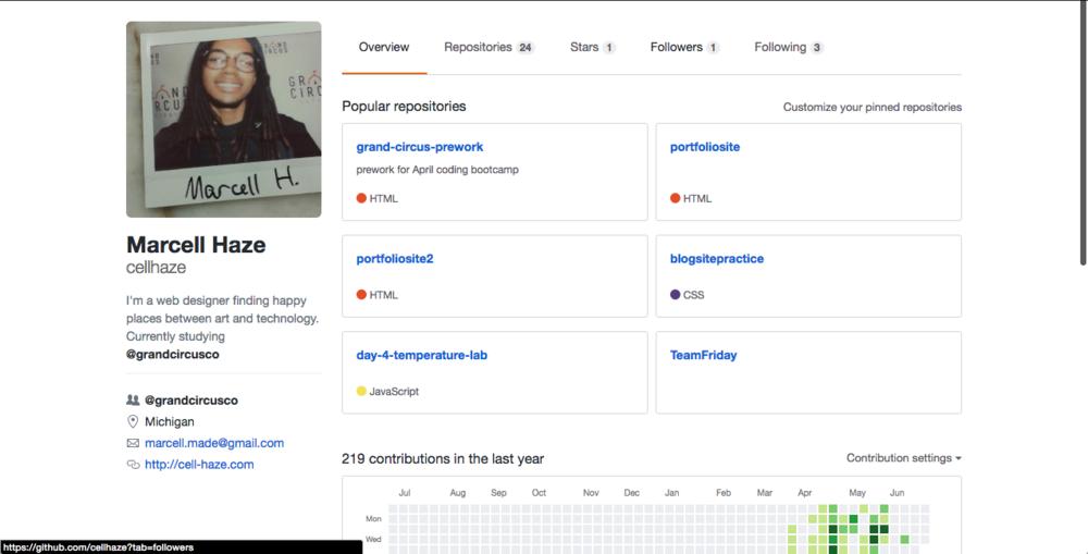 Check out my GitHub -