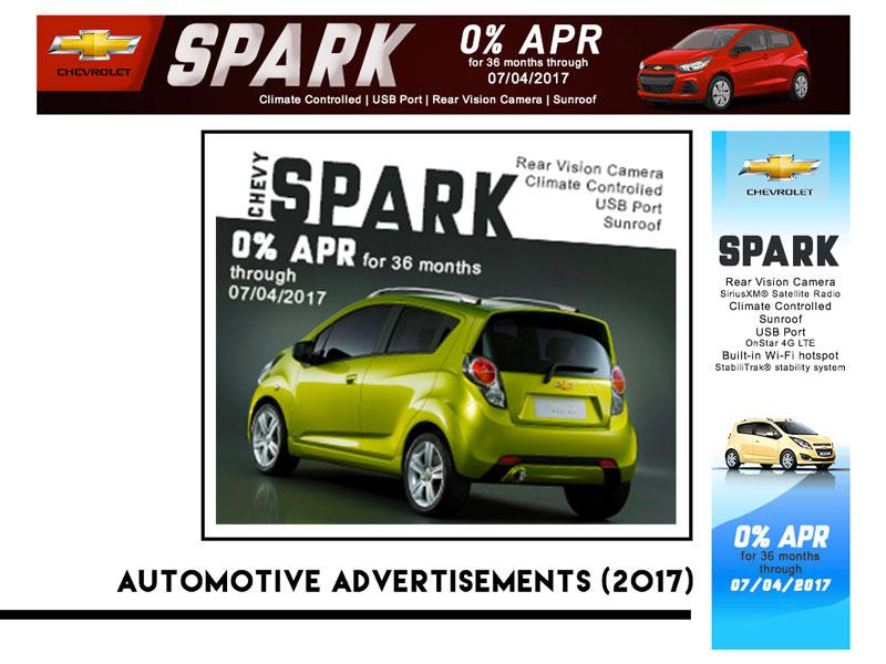 Freelance Automotive Ads