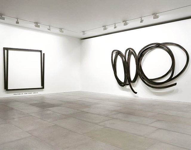 Bernar Venet Looking Forward: 1961-84 @blainsouthern ! Exceptional exhibition focussing on examples of work that were pivotal in defining his practice. On in London until 22cnd July 2017. #bernarvenet #wallrelief #sculpture #blainsouthern #london #contemporarygallery #artcollector