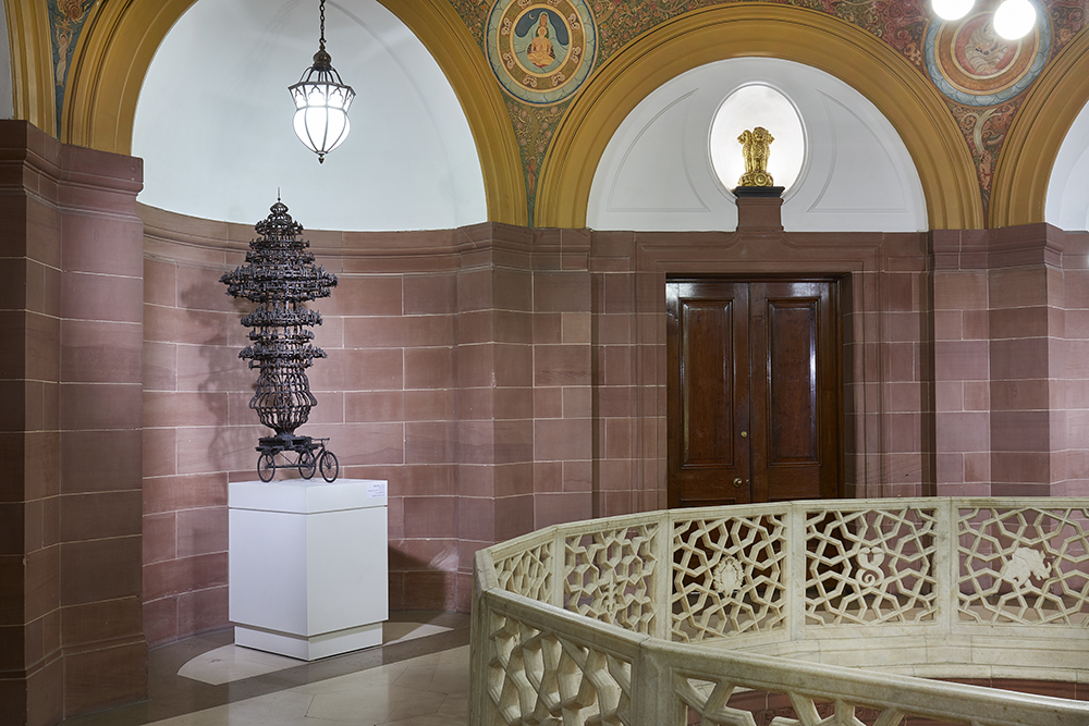 GERRY JUDAH BENGAL SCULPTURE EXHIBITED AT THE HIGH COMMISSION OF INDIA FOR THE UK-INDIA YEAR OF CULTURE 2017  April 2017