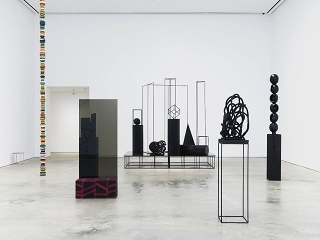 Eva Rothschild 'A Material Enlightenment' @303gallery . A fantastic exhibition of contemporary sculpture. Don't miss! #evarothschild #contemporarysculpture #minimal #material #collection #object #curation