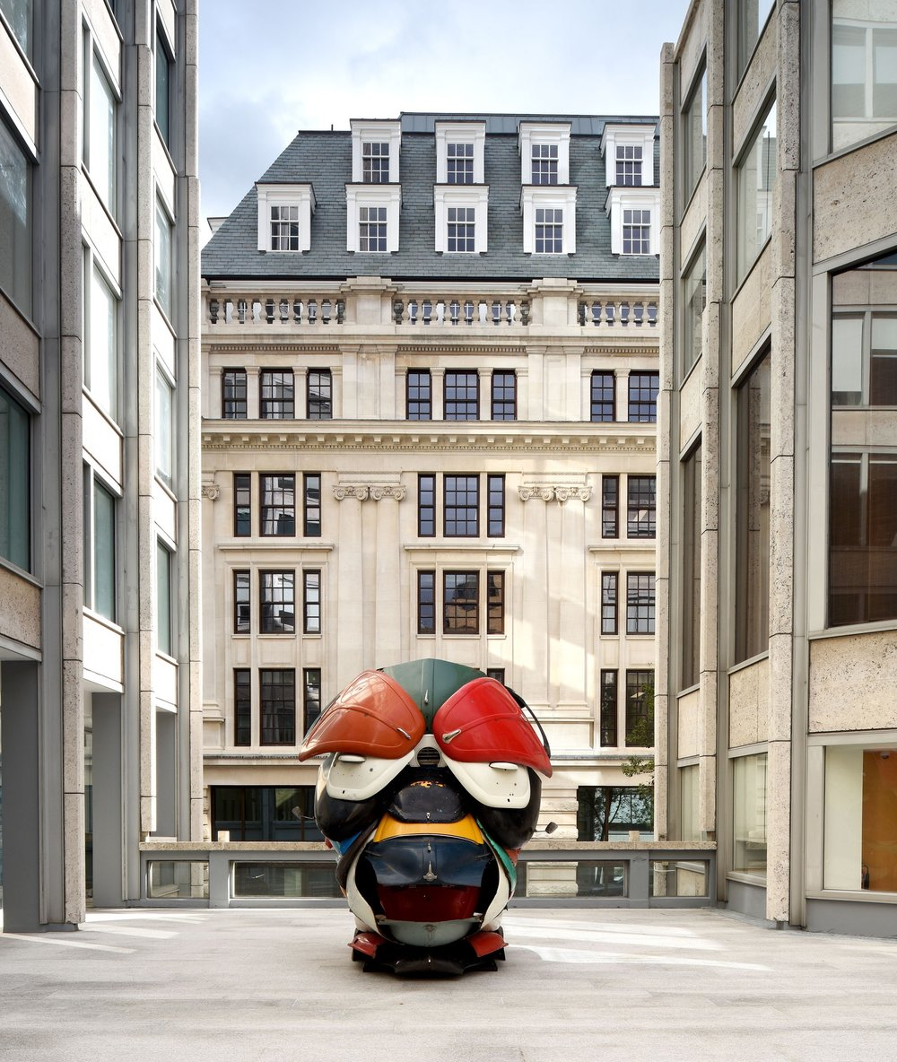 ZAK OVE'S 'AUTONOMOUS MORRIS' IN SMITHSON PLAZA IS INCLUDED IN WALLPAPER MAGAZINE WORLD'S BEST OUTDOOR ART INSTALLATIONS 2018   November 2018