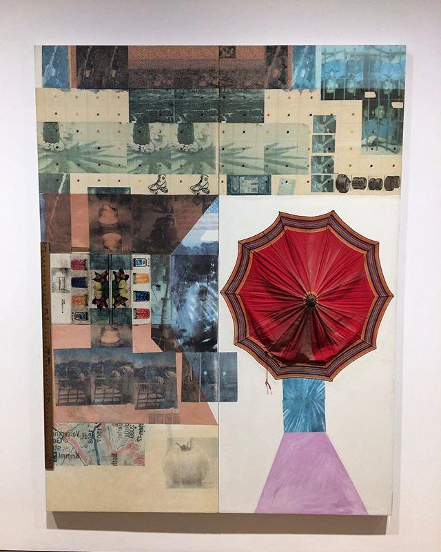 Rauschenberg- Ropac @thaddaeusropac #robertrauschenberg #curation #encountercontemporary