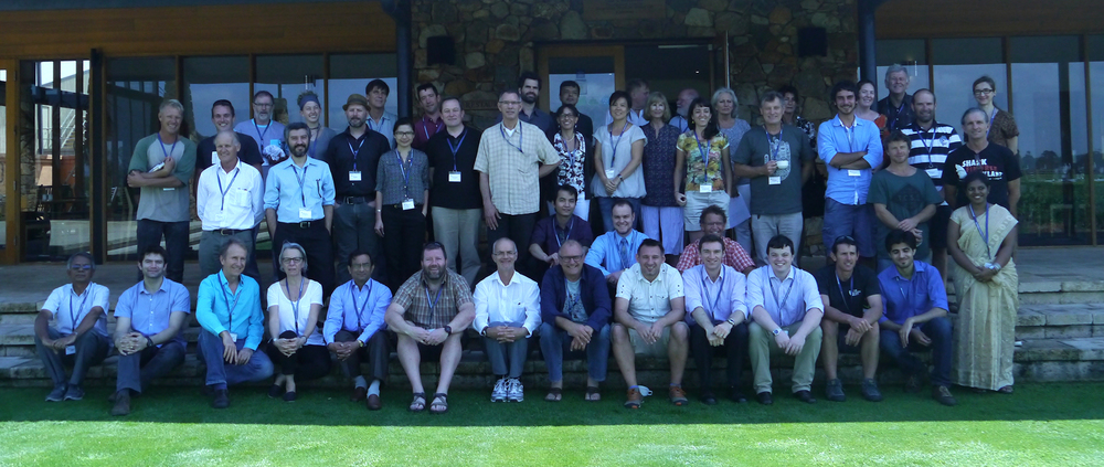 Participants at the 1st International Conference on Rammed Earth Construction.