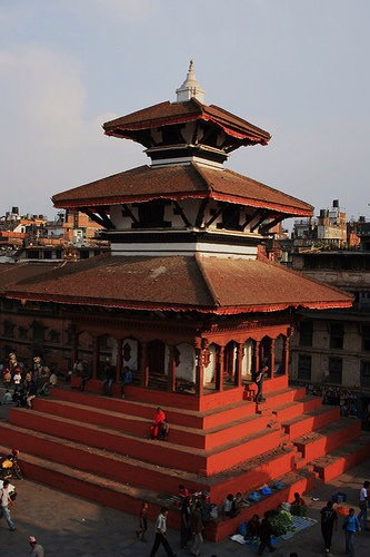 Durbar Square in central Kathmandu in happier times