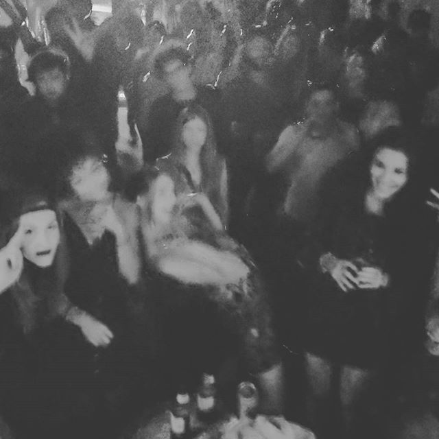 Haha our brains are as fuzzy as this photo turned out. Everybody was throwing doooowwwwn. It's always an honor Calgary. So pumped to see all the @frogfestalberta friends. @403pancake and @fakejamesmusic let's do that again.