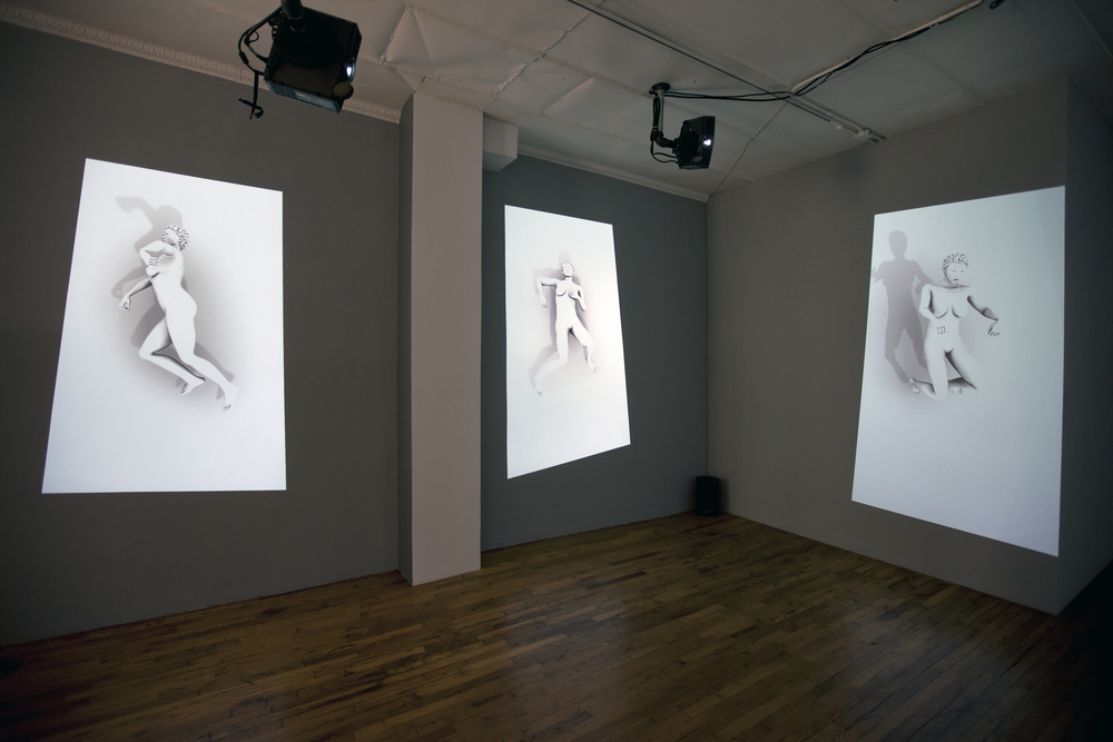 Image: Claudia Hart, Recumulations, installation view / ©Claudia Hart ©Black & White Gallery/Project Space