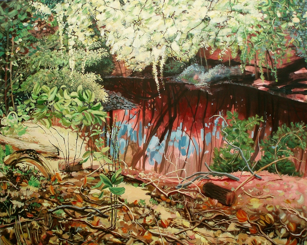 Image: Amy Talluto, Pond, oil on canvas, 2006 / ©Amy Talluto