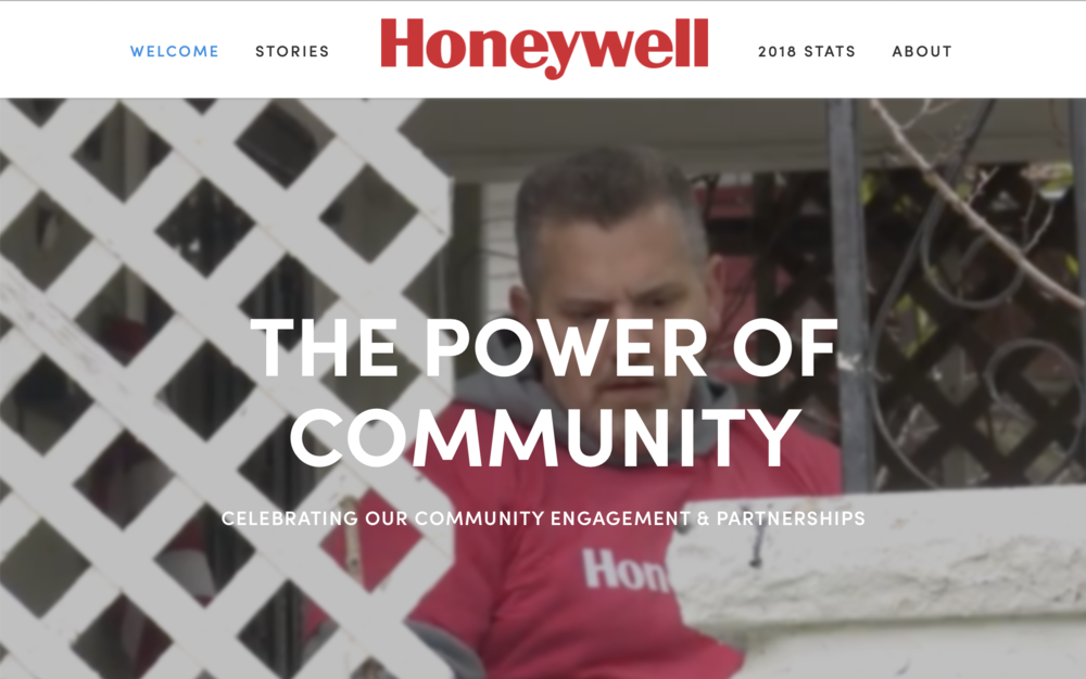 Honeywell - The Power of Community