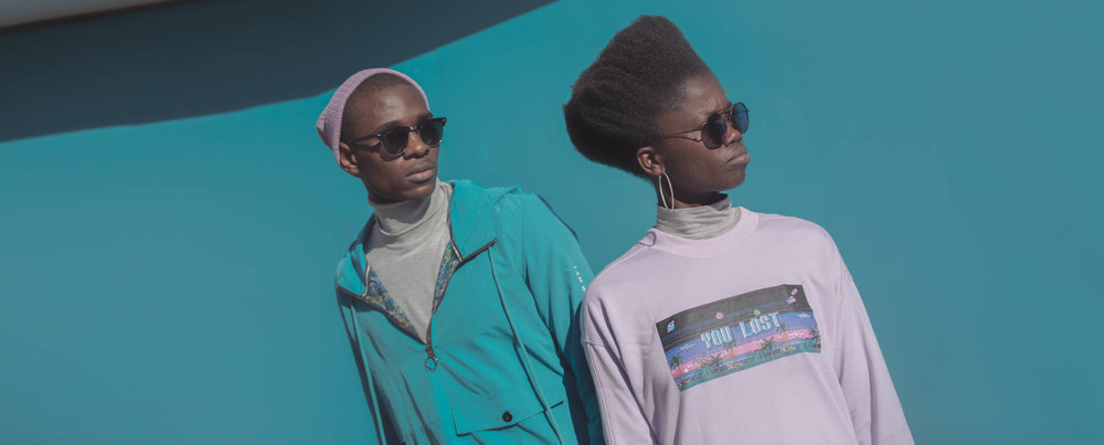 Windbreaker & Sweatshirt