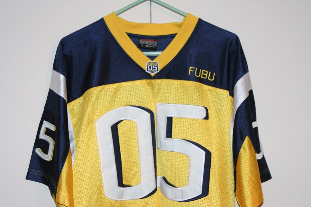 fubu-sports-05-vtg-football-jersey-multi-yellow-blue-athletic-hip-hop-men-large-630cea36fd87b40838b3e7b94a7f1023.jpg