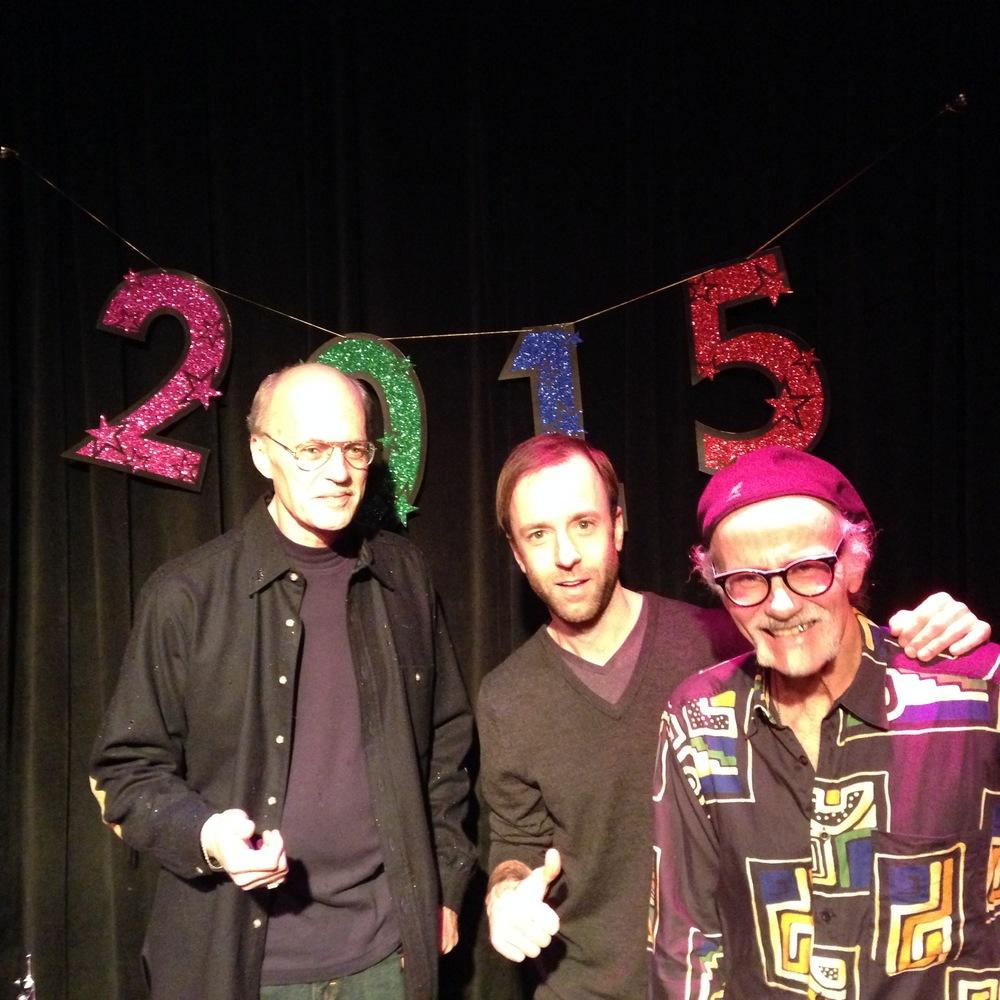 w/ Jeff Johnson and Ron Weinstein at Egan's