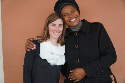 Thembelihle Home Director, Pumeza Mqhayi and SMC Board member and co-founder, Brenna Riggers
