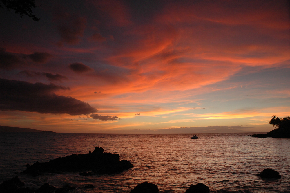 Sunset at Makena Landing