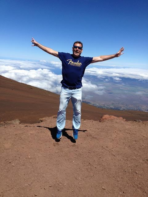 David Reynolds on Haleakala