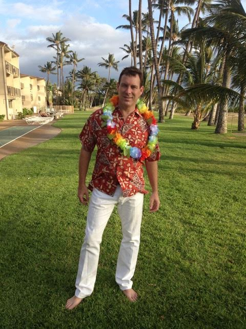 David Reynolds at the Hale Kai O'Kihei