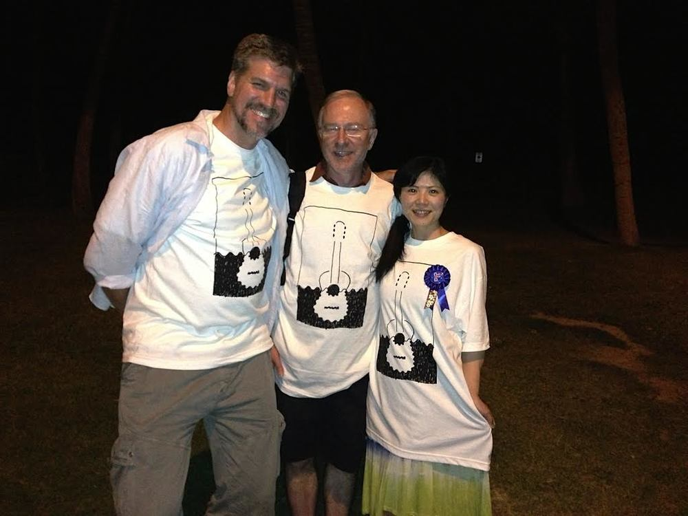 Mark Bussey, Bob McAuley, and Eri Kumazaki (2013)