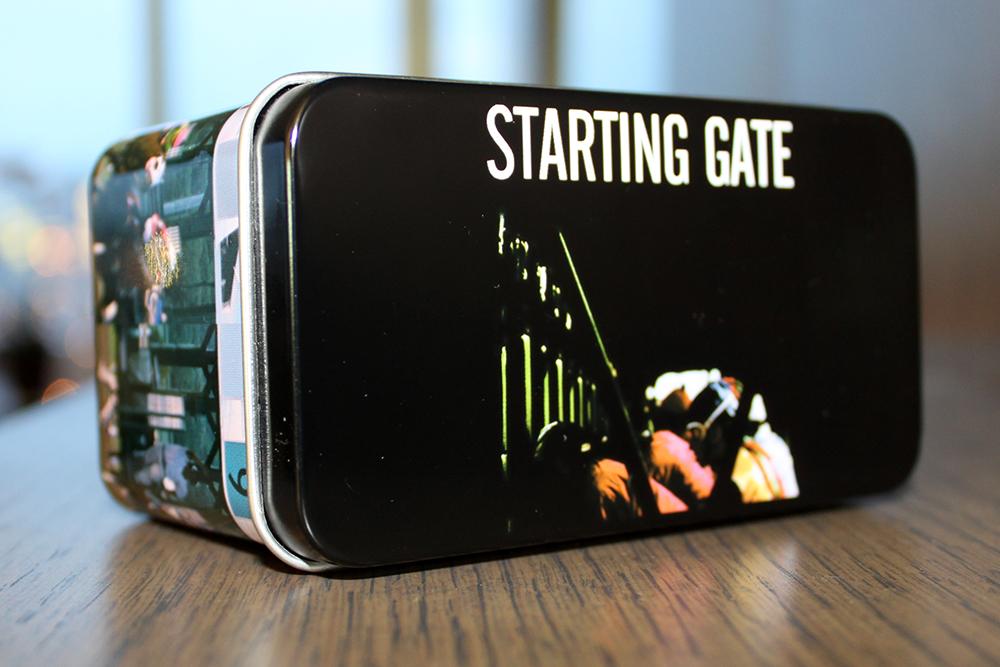 Starting Gate Toy Tin