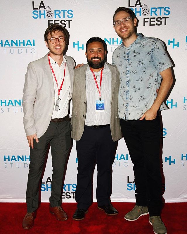 Had an amazing time screening our film at LA International Shorts with these boys! Looking forward to the next one.  #filmmaking #movie #shortfilm #arri #filmmaker