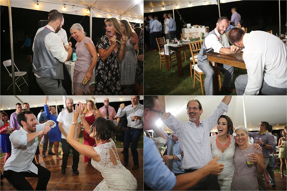 Wedding Reception Dancing Photos Flat Top Lake West Virginia Wedding Photography
