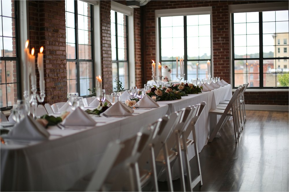 Elegant Wedding Decor The Gallery in Downtown Johnson City, Tennessee Wedding Photography