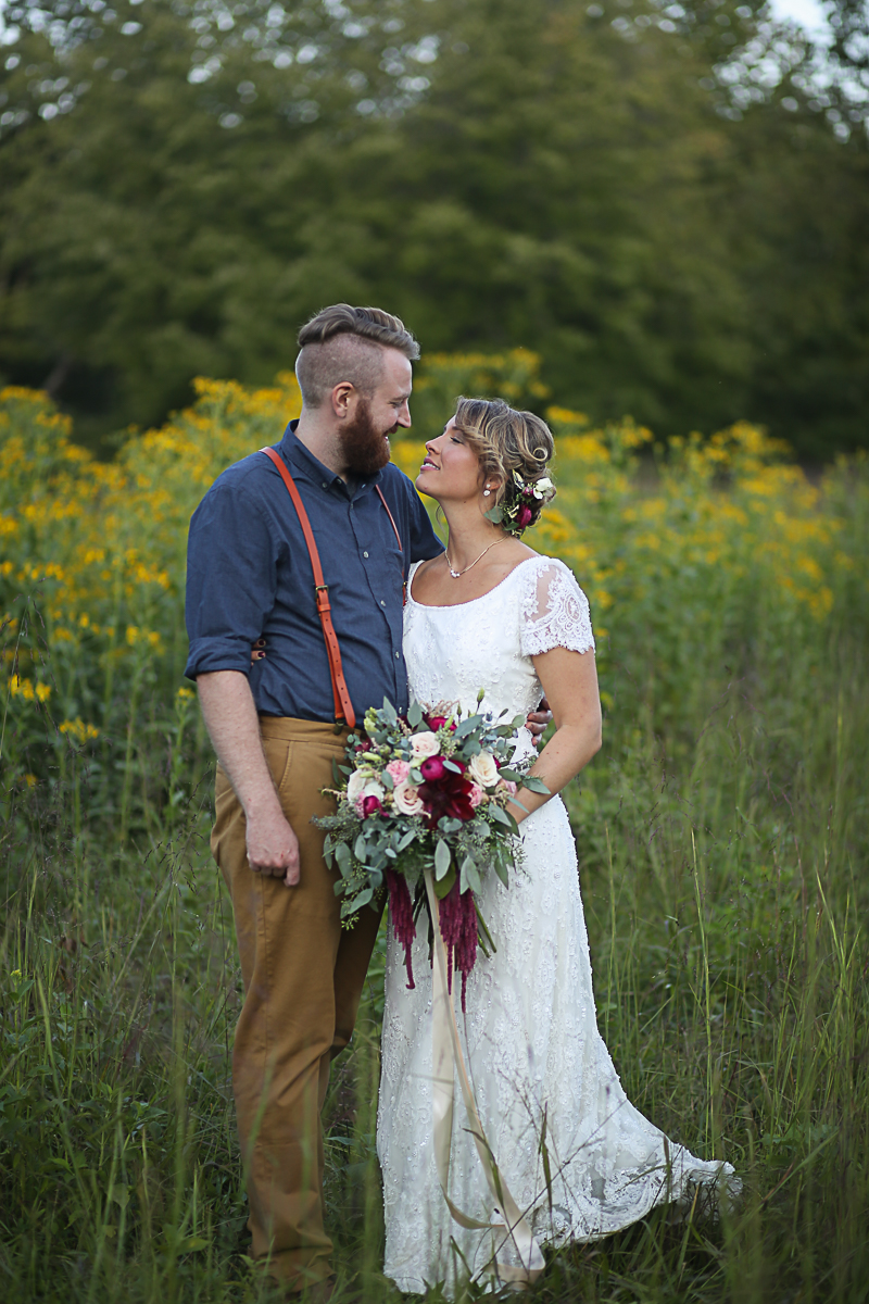 Brittany + Michael's Camp Themed Wedding | Virginia Wedding Photographers