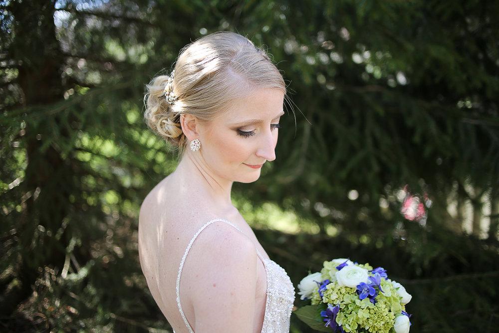 Bridal Portrait | Virginia Wedding Photographer Holly Cromer