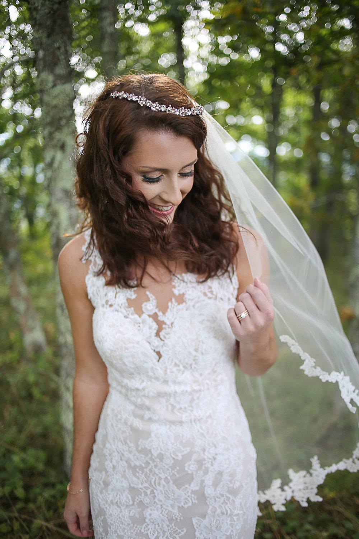 Virginia Wedding Photographer Holly Cromer | Beautiful Bridal Portrait Collaboration with Chantilly Lace Bridals Blacksburg